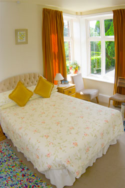 a bedroom of the Belvedere Guest House, Church Stretton, Shropshire