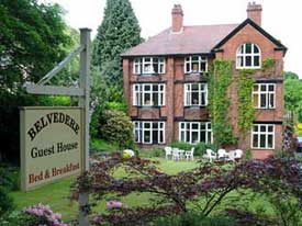 Belvedere Guest House, Church Stretton, Shropshire
